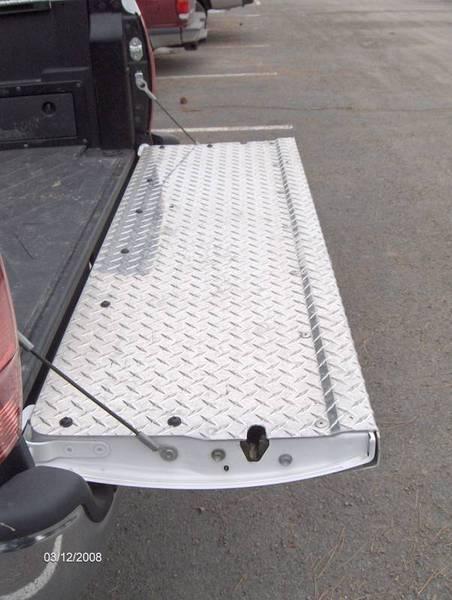 diamond plate tailgate