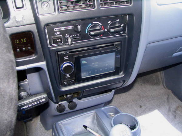 1st gen double din gps stereo install