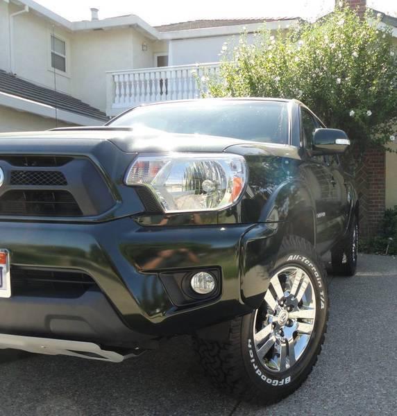 biggest tires on a stock trd sport autos weblog. Black Bedroom Furniture Sets. Home Design Ideas
