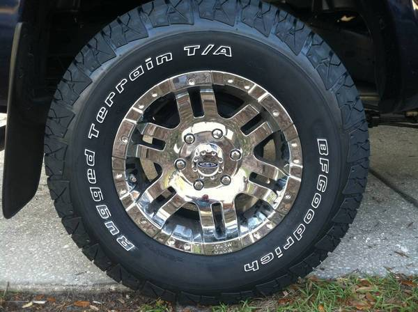 Bf Goodrich Rugged Terrain P265 70r17 Slovenia Dmc Com. The A/T Is Really  Not The Best Tire And The Price Difference Is Not