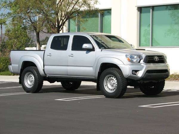 2012 Tacoma with FJ Cruiser Wheels