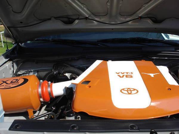 Custom Painted Engine Cover And True Flow Xdi Ut Tacoma World