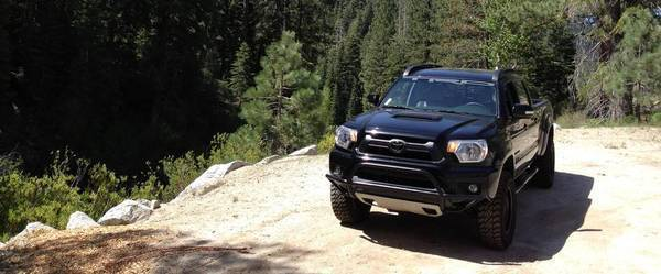 Tacoma, TRD, Lift, 265/70/17, Cross bars avid, 5100, skid plate, roof rack,