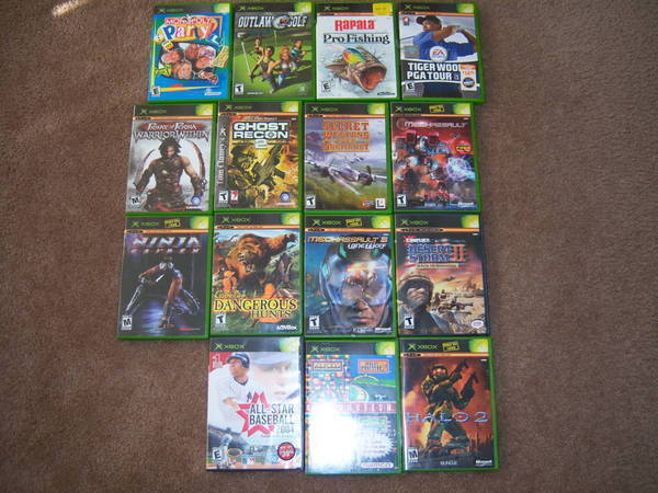 X Box Games For The Orginal : Fs original xbox games tacoma world