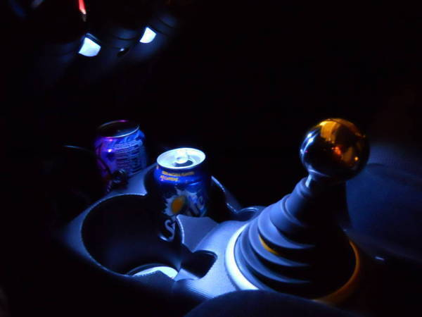 How To Add Leds Into Your Center Console And Still Look Factory Unofficial Honda Fit Forums