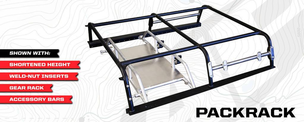 All Pro Offroad Packrack Modular Bed Rack System
