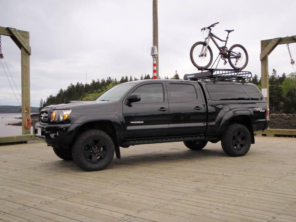 Toyota Highlander 2013 Price 2014 Toyota Tacoma Roof Racks Cargo Boxes Ski Racks | Motobild