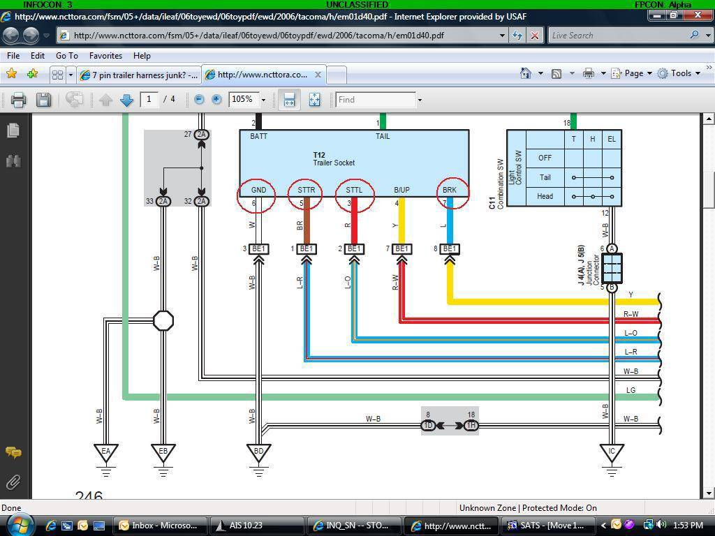 trailer wiring harness diagram diagram stream sealco wiring harness