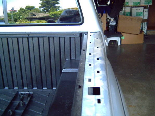 Bed side wall accessibility - Chevy Colorado & GMC Canyon