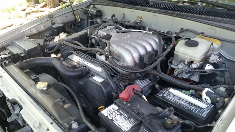 full how to replace spark plugs **pictures** toyota 4runner forum Toyota T100 Parts Diagram at bayanpartner.co