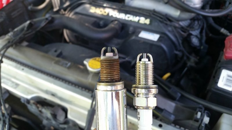 How to replace spark plugs **pictures** | Toyota 4Runner