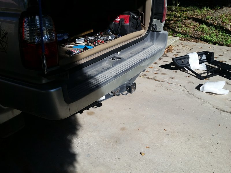 Installing Savage Rear Bumper w/Swingout - **Pictures