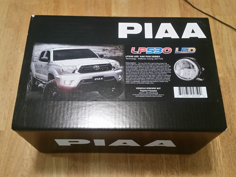 piaa tacoma foglights install writeup review tacoma world
