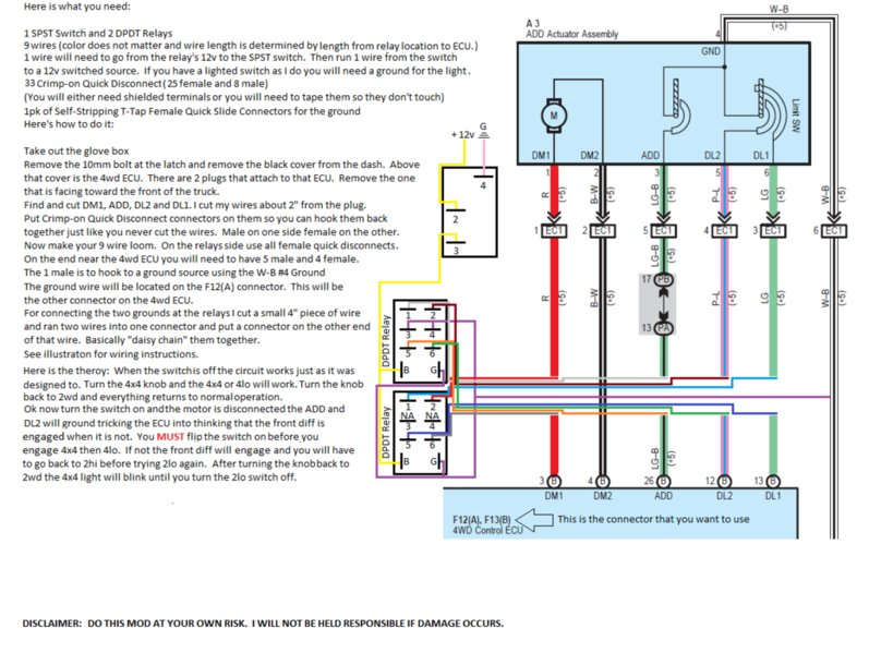 2lo Mod Wiring Diagram Using Relays  2lo Mod Wiring