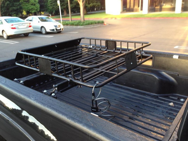 bed rack. cargo rack. Bike rack tacoma. Cross bars avid ...