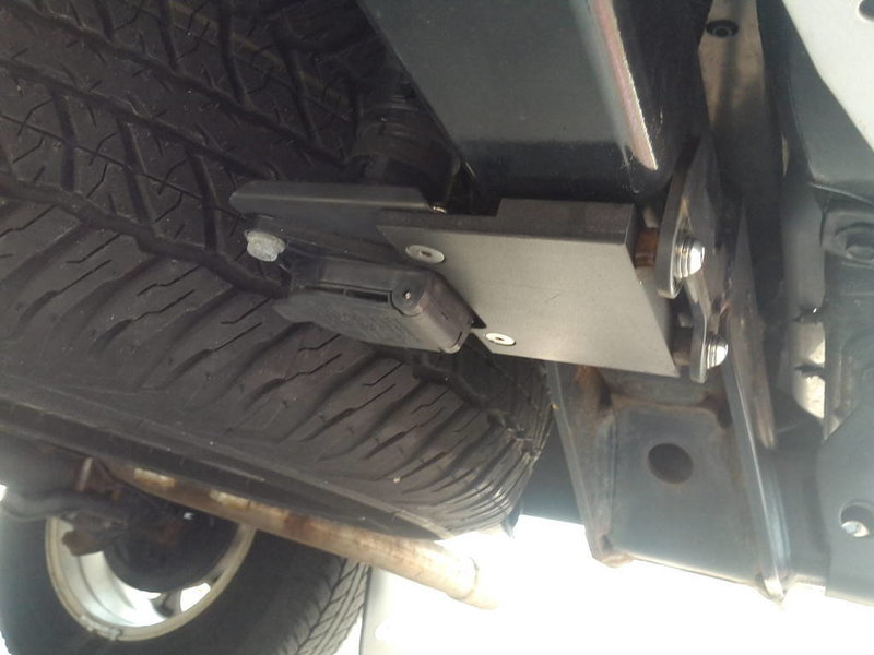 Trailer Hitch Wiring Harness Bracket : Bullaculla trailer harness relocate bracket toyota tacoma