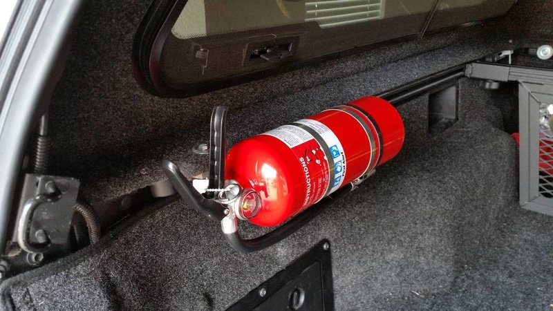 Truck Bed Fire Extinguisher Mount
