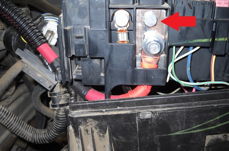 alternator fuse and fuse box battery wire replacement upgrade 6 remove this wire harness socket it has four tabs and is a bit tricky to pull out it will take some wiggling as it is connected to another socket