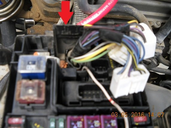 Alternator Fuse And Fuse Box
