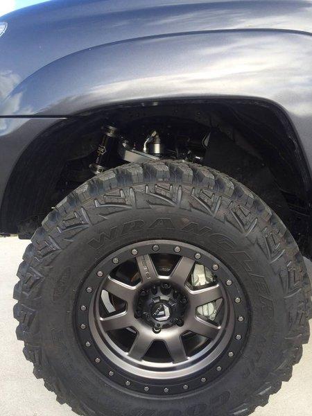 Goodyear MT/R w/ Kevlar 285/70/17. Fuel Trophy rims ...
