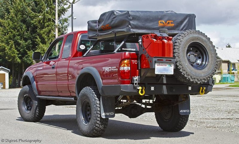 Jerry Can Holder For Truck Bed >> Can it be done?: Swing-out Tire Carrier and Carry 4 Bikes - Expedition Portal