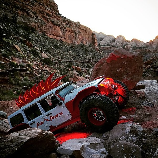 Rigid Industries Fabfours Radical Jeep Build