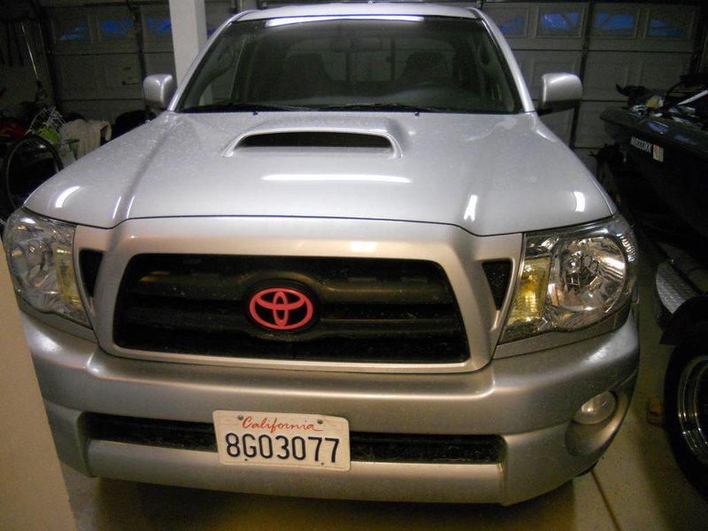 Toyota Tacoma Grille Emblem Pink Html Autos Post