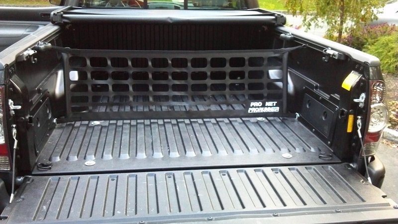 Tailgate Net As A Cargo Divider Tacoma World