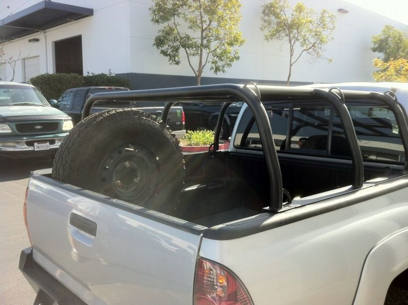 Bed rack for roof top tent spare and hi-lift mounted & Thanks Jay. Bed rack for roof top tent spare and hi-lift mounted ...