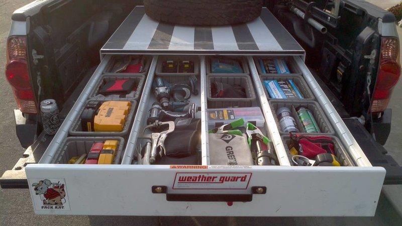 FS: Weather Guard Pack Rat Tool Box   Tacoma World